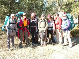 Jack Pines Backpacking Newbies